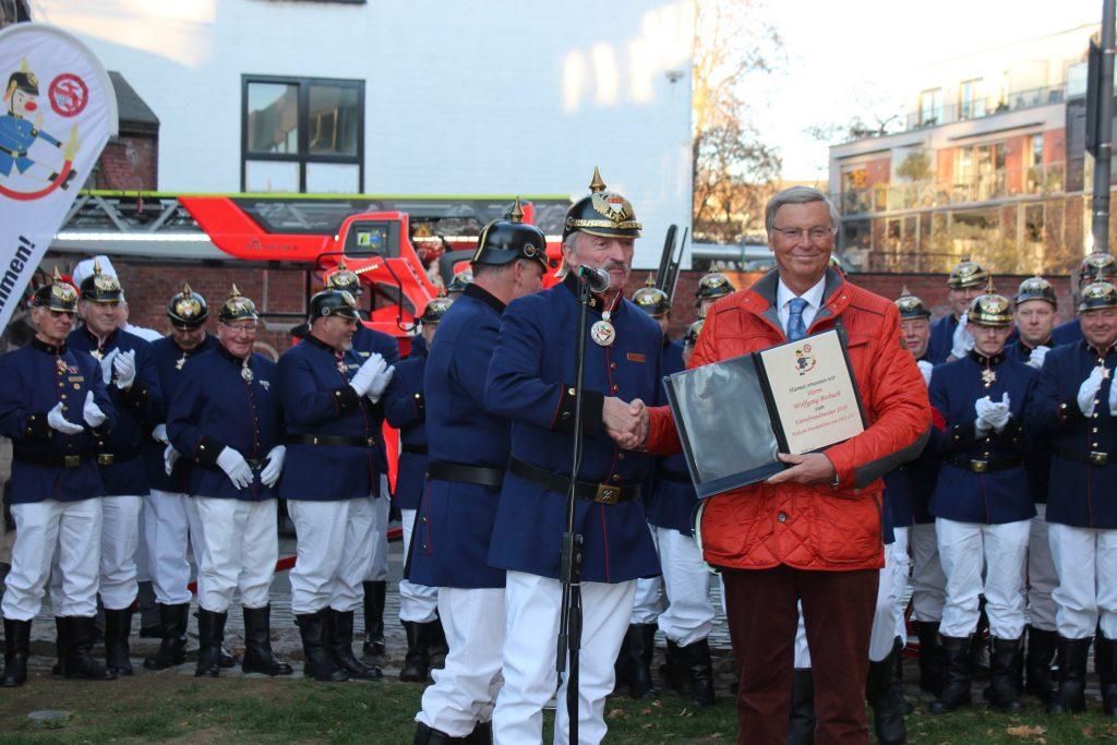 Ernennung Ehrenbrandmeister 2019